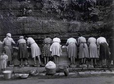 Nino Migliori. Le lavandaie, 1956