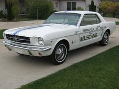 1965 Mustang Coupe Indy 500 Pace Car