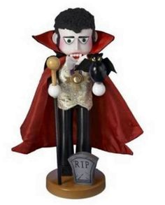 A spooky addition to your festive decor, the Kurt S. Adler 17 in. Steinbach Count Dracula Signed Nutcracker is crafted in the likeness of the stately. Halloween Clay, Halloween Ornaments, Holidays Halloween, Halloween Crafts, Halloween Vampire, Christmas Ornaments, Nutcracker Image, Nutcracker Sweet, Nutcracker Christmas