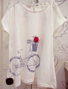 Blusa para niña en algodón | Figi's