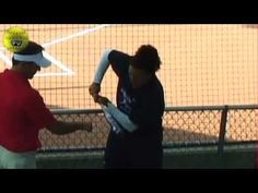 Opposite Field Hitting - Fastpitch Softball TV Show Episode 119. This is another episode from the PFX Tour coaches clinic. Olympian Lisa Fernandez, and coach Kirk Walker tell us drills for opposite field hitting.    Visit the Fastpitch TV Show's website at http://Fastpitch.TV