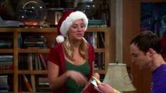 The Big Bang Theory - Penny's Christmas gift to Sheldon, via YouTube.