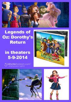 Legends of Oz: Dorothy's Return Soundtrack and Singing Doll #giveaway
