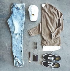 outfit grid 50 Awesome Streetwear Outfits Grids Ideas for Men Swag Outfits, Trendy Outfits, Cool Outfits, Fashion Outfits, Womens Fashion, Streetwear Mode, Streetwear Fashion, Mode Cool, Mode Man