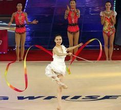 Gymnastics dance.