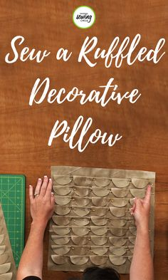 Have you ever been in a store and found a decorative pillow you really liked and wanted to buy but the price was just too high? If so, learn how to make decorative pillows at home with these helpful tips and techniques provided by Tara Rex. Find out what tools work best and how to beginning this new, exciting project.