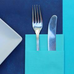 Esta combinacion en #novedad en #muropapel con colores #turquesa para el #mantel…