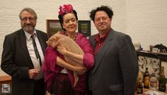 Wanda Joosten, Ronald Van Rillaer en Myriam Mulder brengen Kahlo tot leven