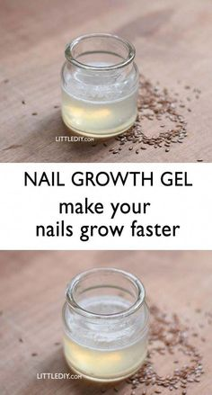 GROW YOUR NAILS FASTER WITH NAIL GEL #BiotinForHairLoss