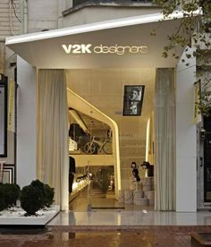Store exterior on pinterest store fronts chanel store for Retail store exterior design