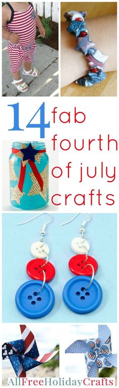 4th of july edible crafts