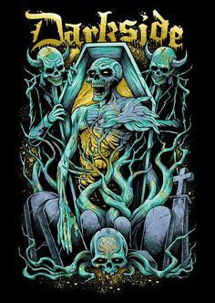 Darkside: Coffin Crew by Brandon-Heart.deviantart.com on @deviantART