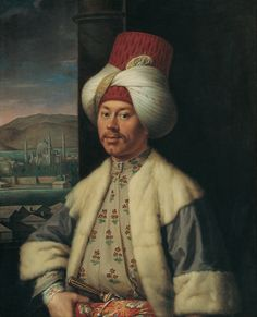 A European in Turkish Costume by Antoine de Favray
