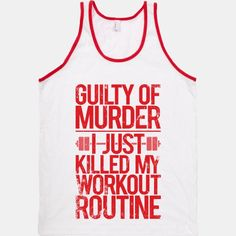 Guilty Of Murder - I Just Killed My Workout Routine | HUMAN |