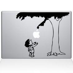 Giving Tree MacBook decal!!