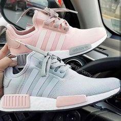 abe572e2a094a2 Grey or pink Adidas NMD   adidas  adidasoriginals  adidasshoes  adidasnmd  Adidas Sneakers