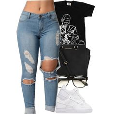 A fashion look from June 2016 by christianna-futrell featuring NIKE, Wildfox and Michael Kors Lit Outfits, Chill Outfits, Dope Outfits, Cute Casual Outfits, Outfits For Teens, Summer Outfits, Teen Fashion, Fashion Outfits, Polyvore Outfits