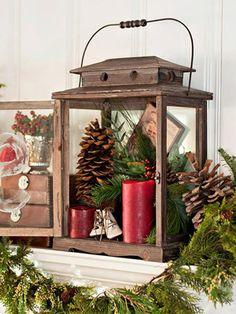 Display your Christmas treasures.