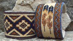 The coolest cuffs around by Kathleen Brannon of Desert Sage Bead Art
