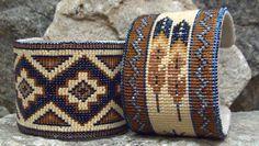 The coolest cuffs around by Kathleen Brannon of Desert Sage Bead Art