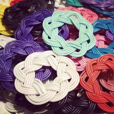 Piiri-korvakorut #korvakorut #kierrätysmateriaalit #kierrätetyjohdot #earrings #upcycling #recycledmaterials #recycledwires
