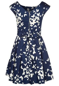 Closet - Cocktailklänning - Blått Dresses, Check, Fashion, Dress Blues, Dark Blue, Evening Dresses, Fashion Styles, Blue, Formal Prom Dresses