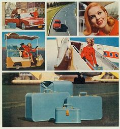 lady baltimore luggage ad - Google Search