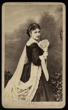 Rare Original Photo of Actress KITTY BLANCHARD / Drowned in Tub / Gurney NY