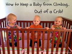 How To Keep Baby From Climbing Out Of A Crib