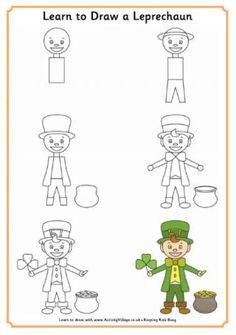 Learn to Draw a Leprechaun