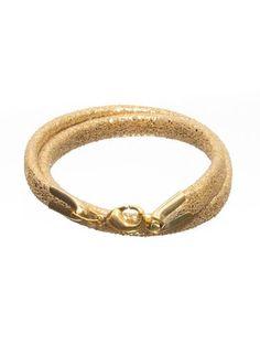 bratara piele naturala Bangles, Bracelets, Gold, Jewelry, Fashion, Moda, Jewlery, Jewerly, Fashion Styles