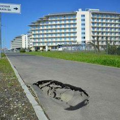 """Sochi, una """"ciudad fantasma"""" a un mes de Juegos."""