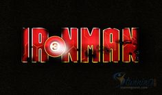 Iron Man Text Effect in Photoshop.   We will be using different Photoshop Tools, like Horizontal Type Tool, Ellipse Tool, Line Tool, Rectangular Marquee Selection Tool, Eraser Tool etc. We will also be using different Photoshop Commands like Layer Styles which will be having Drop Shadow, Inner Shadow, Stroke, Gradient Overlay, Color Overlay, Pattern Overlay etc. http://www.stunningmesh.com/2013/10/iron-man-text-effect-in-photoshop/