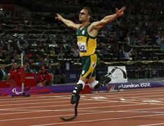 Oscar Pistorius competed in the London Olympics and Paralympics. Oscar Pistorius, Prison, Athletic Men, Blade Runner, Allegedly, Tv, Olympics, Girlfriends, Male Athletes