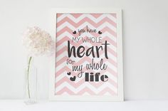 Valentines day best gift, instant download printable!