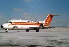 Douglas freighter of Kalitta at Detroit (Willow Run) in 1989 Mcdonald Douglas, Cargo Airlines, Military Aircraft, Pilot, Aviation, Jet, American, Airplanes, Alaska
