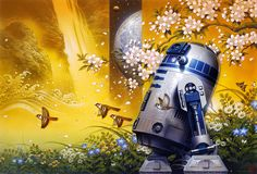HEROES | STAR WARS ORIGINAL ART | SANDAWORLD.COM | The Art of TSUNEO SANDA