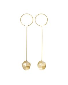 Coppernicus Collection by H.Stern. Earrings in 18K yellow gold.