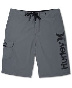 Hurley Swimwear, One & Only Supersuede Logo Board Shorts
