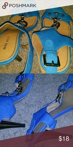 Nine West Ladies High Heels  Size 8 1/2M Nine West Shoes Heels