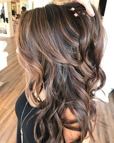 Blonde with Layers and Balayage - 40 Cute Long Blonde Hairstyles for 2019 - The Trending Hairstyle Front Hair Styles, Hair Front, Hair Color And Cut, Hair Colour, Lace Hair, Brunette Hair, Great Hair, Hair Highlights, Gorgeous Hair