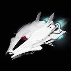 Superslick ruimteschip! :)