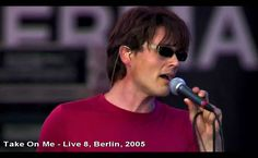 A-ha - Take On Me - Live 8, Berlin - 2005 [HD] (+playlist)