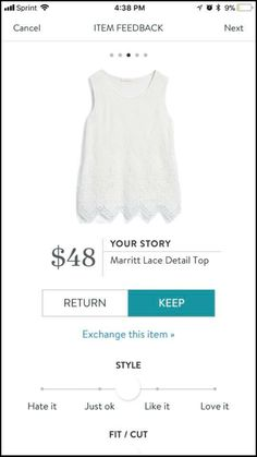 Stitch Fix Stylist I like tops like this for layering! Love the fabric!