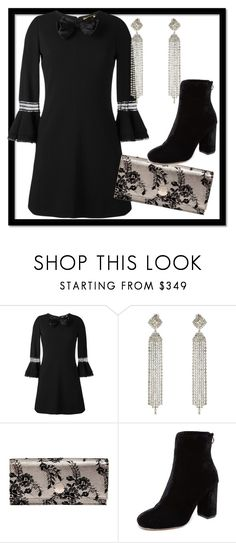 """Glam"" by nadsshoes ❤ liked on Polyvore featuring Yves Saint Laurent, Jimmy Choo and Joie"