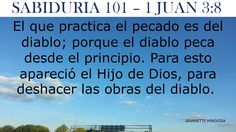 1 JUAN 3:8