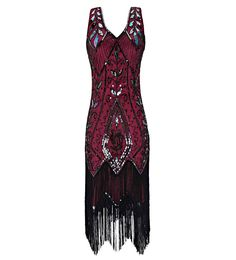online shopping for Metme Women's Vintage Flapper Fringe Beaded Great Gatsby Party Dress from top store. See new offer for Metme Women's Vintage Flapper Fringe Beaded Great Gatsby Party Dress Great Gatsby Party Dress, Gatsby Dress, Red Flapper Dress, 1920s Flapper, Flapper Shoes, Flapper Party, 1920s Party, Flapper Style, Very Short Dress