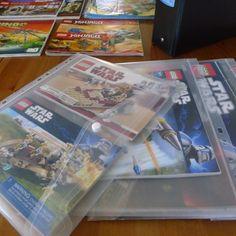 LEGO Instruction Booklets Organizing