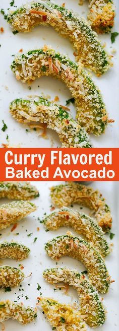 Curry-Flavored Baked Avocado Wedges – spice up baked avocado with curry powder. These avocados are so good, healthy and takes only 20 minutes to make | rasamalaysia.com
