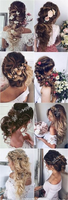 65 New Romantic Long Bridal Wedding Hairstyles to Try / Ulyana Aster www.ulyanaa um lange Haare zu probieren 65 New Romantic Long Bridal Wedding Hairstyles to Try / Ulyana Aster www. Best Wedding Hairstyles, Pretty Hairstyles, Bridal Hairstyles, Hairdos, Beautiful Haircuts, Spring Hairstyles, Hairstyles Men, Elegant Hairstyles, Haircuts For Long Hair